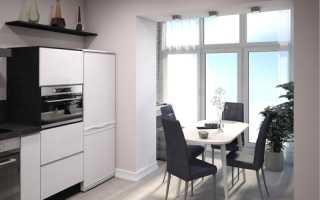 Совмещённая кухня и прихожая: правильное зонирование помещения