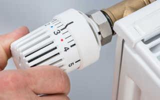 Принцип работы термоголовки для радиатора отопления