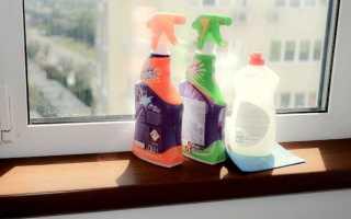 Чем чистить пластиковые окна и подоконники после ремота