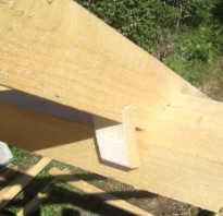 Как закрепить стропила к стене дома