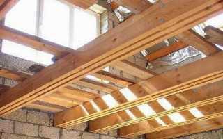 Как производится утепление межэтажного перекрытия по деревянным балкам?