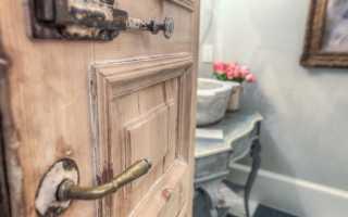 Реставрация межкомнатных деревянных дверей своими руками