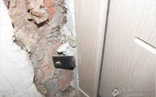 Как шпаклевать откосы дверей