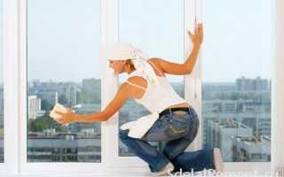 Простые средства: чем чистить пластиковые окна и подоконники?