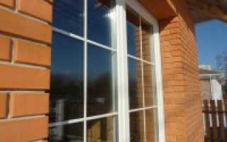 Что такое шпросы в пластиковых окнах?