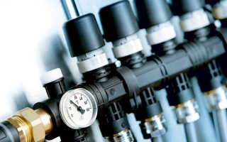 Распределительный коллектор для систем радиаторного отопления