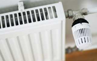 Как снять терморегулятор с батареи отопления?