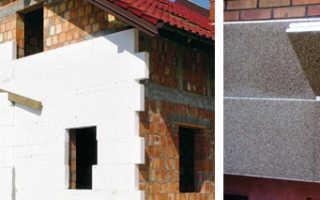 Можно ли утеплять кирпичный дом пеноплексом снаружи?