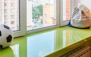 Чем покрасить пластиковый подоконник — советы профессионалов