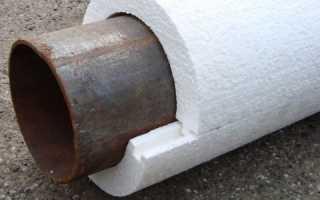 Как утеплить трубы канализации своими руками