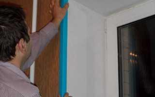 Декоративный уголок для откосов двери