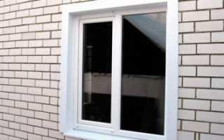 Как сделать наружные откосы на пластиковых окнах