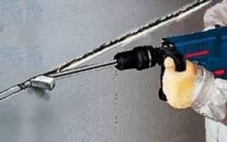 Как штробить стену под проводку: пошаговая инструкция