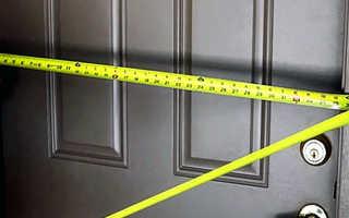 Как установить железную дверь в кирпичной стене?