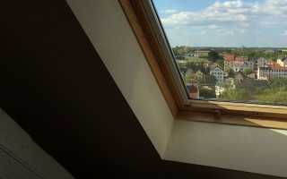 Установка окна в кровлю: монтаж мансардного окна своими руками