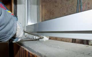 Откосы для деревянных окон внутренние