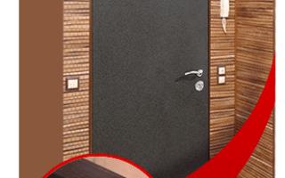 Отделка откосов входной двери: выбор материала и порядок монтажа