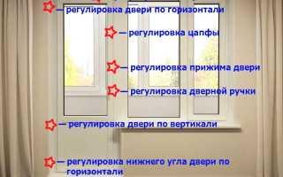 Как самостоятельно отремонтировать двери пвх на балконе