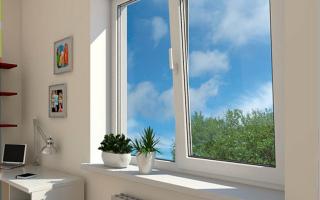 Как поставить облицовку на пластиковые окна?
