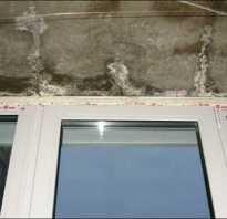 Как запенить щели на балконе?