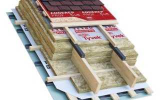 Сколько слоев утеплителя нужно для крыши?