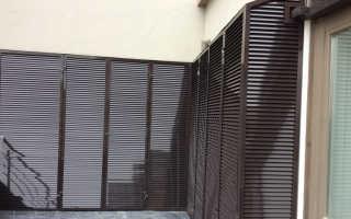 Вентиляционная решетка на балконе