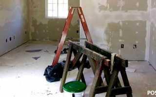 Как приклеить гипсокартон к стене — пошаговая инструкция