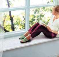 Оптимальная высота подоконника в частном доме