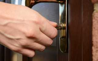 Почему ключ не поворачивается в замке двери?