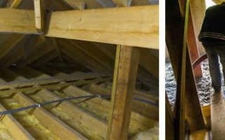 Как закрепить утеплитель на потолке — Кровля и крыша