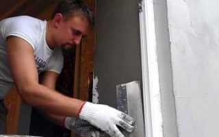 Установка дверных откосов своими руками
