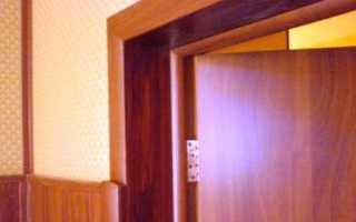 Методы отделки откосов входной двери и технологии