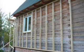 Технология обшивки сайдингом деревянного дома с утеплителем