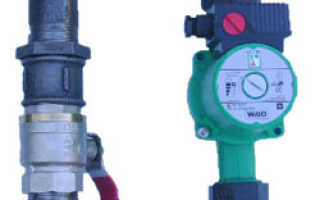 Установка циркуляционного насоса в систему отопления частного дома