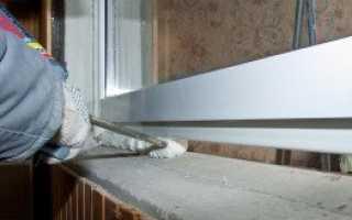 Оконные откосы. Как сделать наружные откосы на пластиковых окнах?