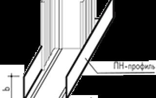 Правила создания каркаса для перегородок и потолков