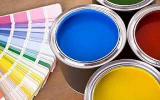 Окрашивание пластикового окна в домашних условиях. Краски для окна