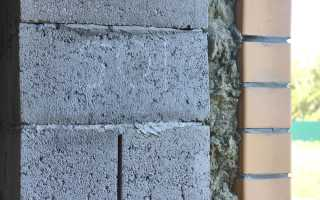 Утепление стен из газобетона снаружи и изнутри