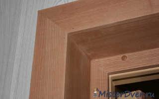 Откосы для двери своими руками: инструкция для новичков