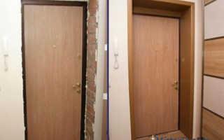 Отделать дверной проем ламинатом и другими материалами очень просто