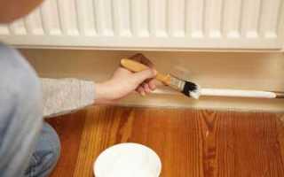 Как правильно красить трубы отопления?