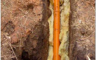 Нужно ли утеплять канализационную трубу в земле?