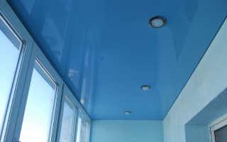 Чем отделать потолок на балконе?