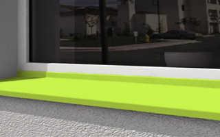 Отлив для балкона и лоджии: технология установки отлива