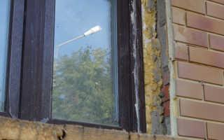 Откосы для пластиковых окон из плитки