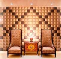 Как крепить мягкие стеновые панели к стене?