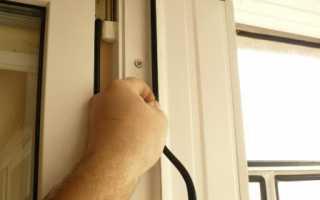 Как самостоятельно заменить уплотнитель на окнах своими руками