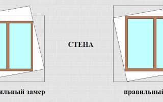 Размеры при установке окон: замеры, зазоры, монтажные швы