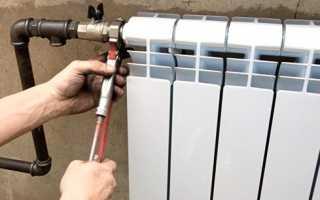 Как подключить батарею отопления правильно