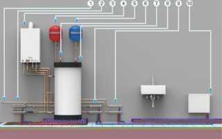 Зачем нужен подмес в системе отопления?